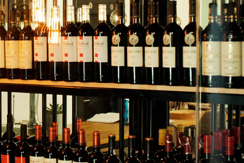 Restaurante El Puerto a la Carta - Selección de vinos