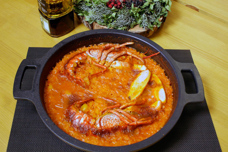 Restaurante El Puerto a la carta - Arroz con bogavante