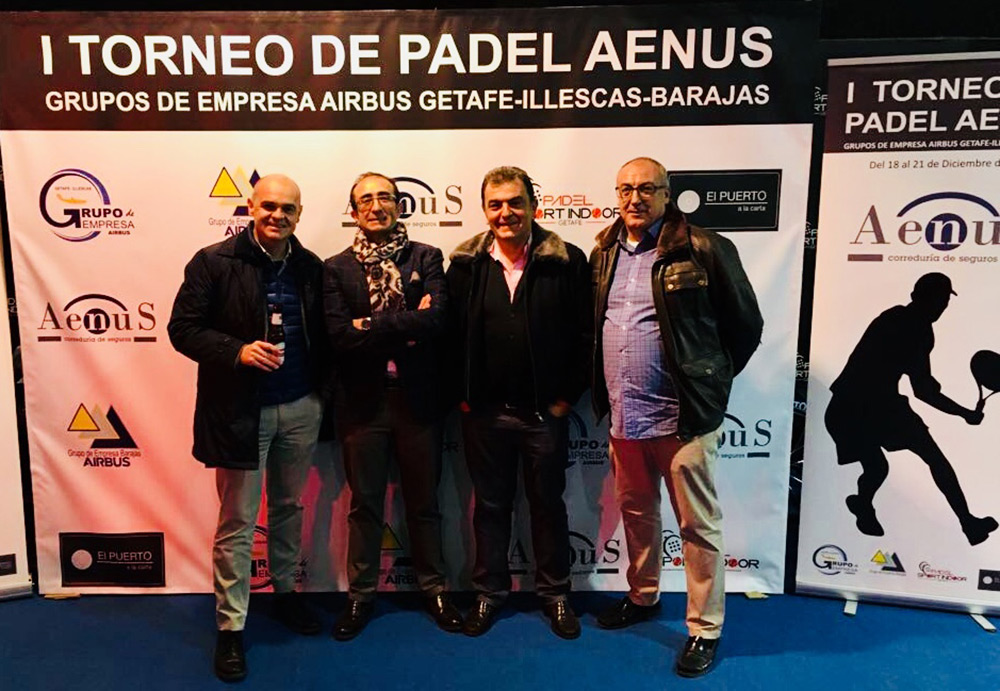 I Torneo de Padel Aenus